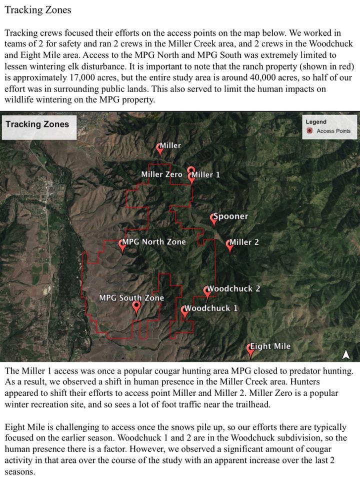 Tracking Zones