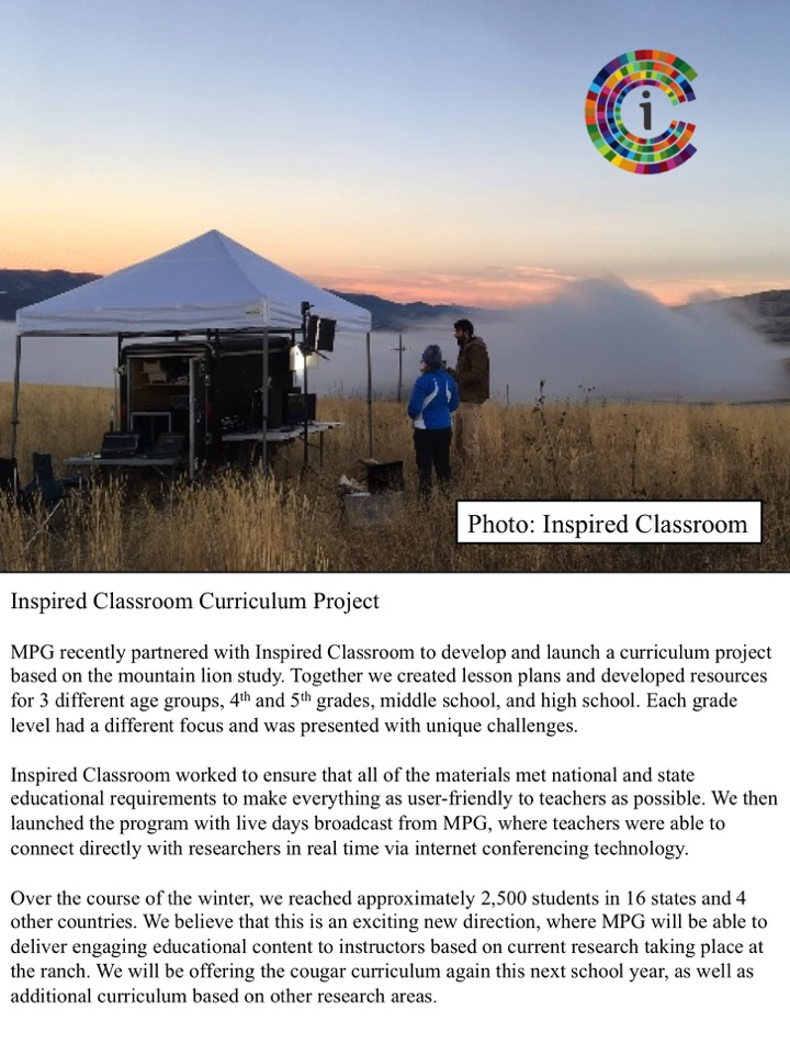 Inspired Classroom Curriculum Project