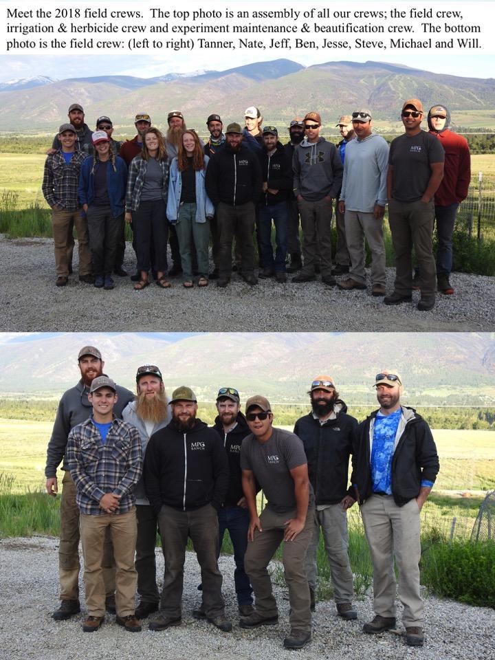 Meet the 2018 field crews.