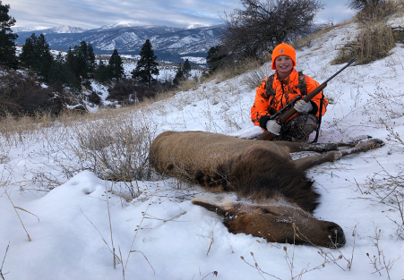 Adyn Mayn became a successful youth hunter on MPG Ranch in 2019.