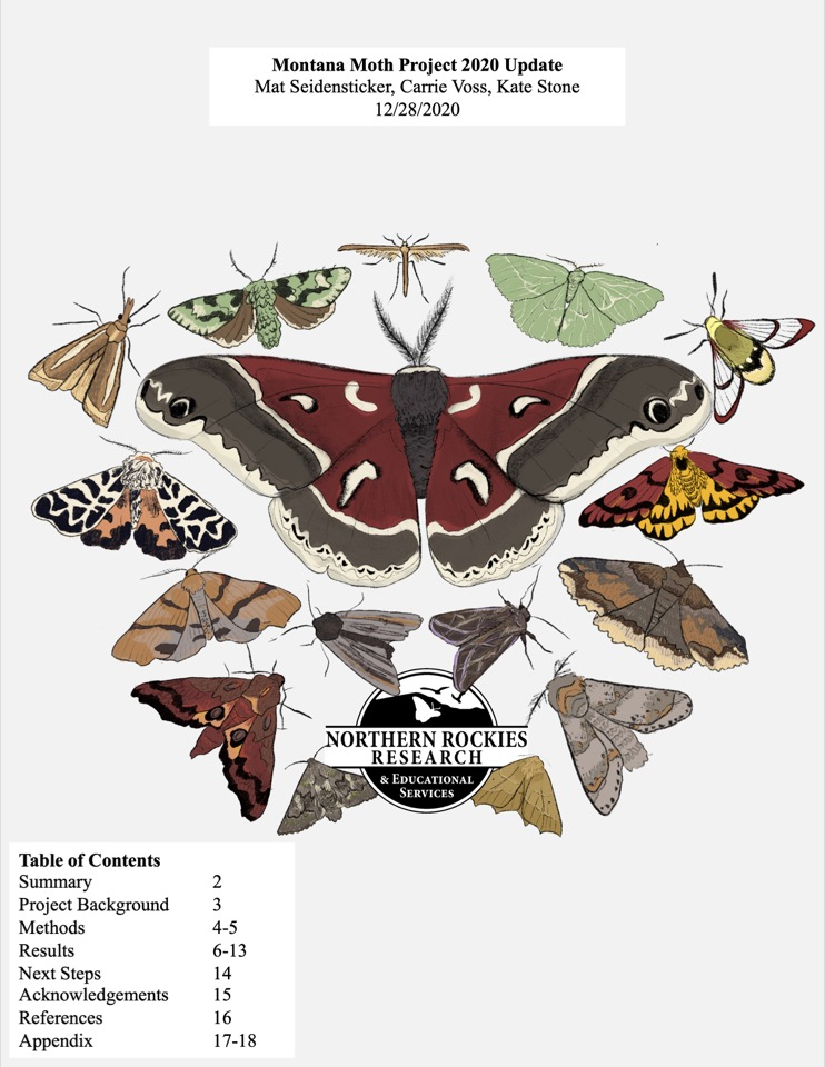 Montana Moth Project 2020 Update
