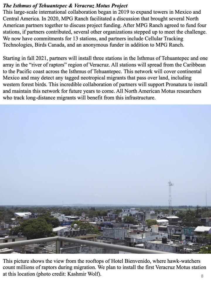 The Isthmus of Tehuantepec & Veracruz Motus Project