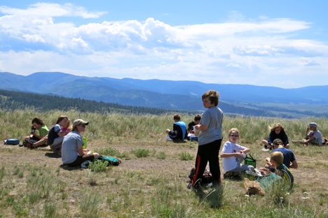 Missoula Parks and Recreation brought two summer camp groups to MPG this week.