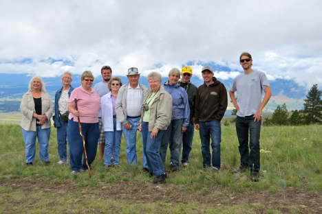 On Wednesday, Missoula Parks and Recreation brought a senior van tour to MPG. They were a delightful group who seemed to thoroughly enjoy their visit to the ranch. They marveled at the views and expressed support for the conservation mission of the ranch.