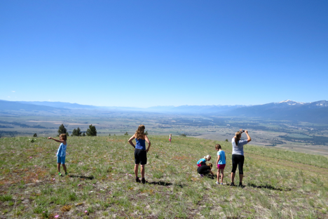 On Friday, the Girl Scouts brought a small group to MPG to explore the ranch.