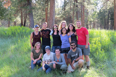 On Saturday, a group from the Wild Rockies Field Institute (WRFI) visited the ranch as a part of their Wild Rockies Summer Semester.