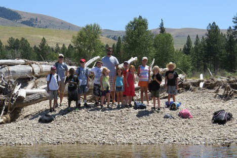 This week kicked off with a visit from a Missoula Parks & Recreation Young Explorers Camp.