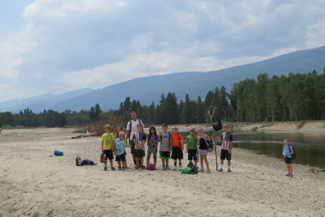 Missoula Parks and recreation brought their last camp group of the season to MPG. We explored the river and the Northern Floodplain. The students caught and released toads and even saw an immature bald eagle.