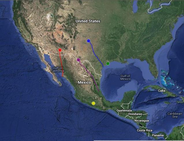Follow along at: http://ranchmpg.appspot.com/ospreylocator.html