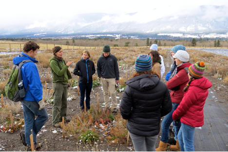 On November 16, the Climate Studies class from the University of Montana visited MPG.